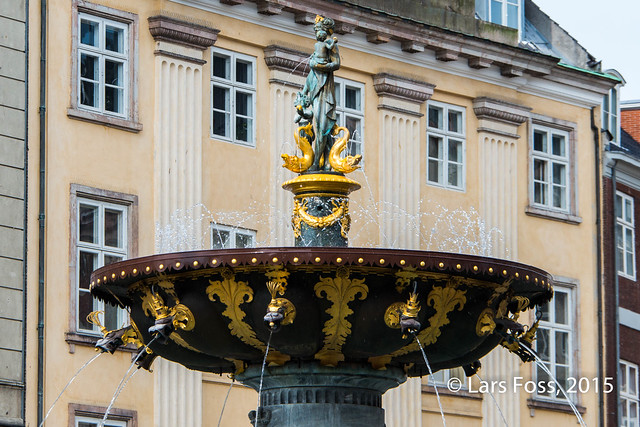 Fountain of the Golden Apples, Copenhagen