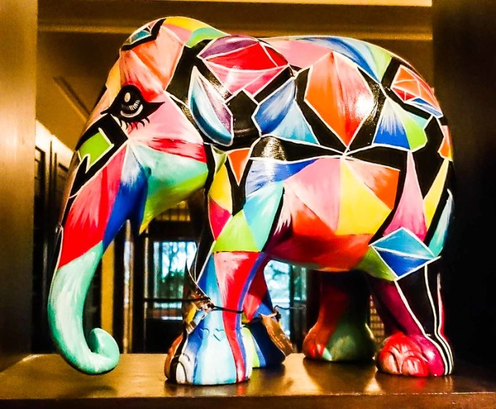 Abstract Theme Elephant Parade Thailand