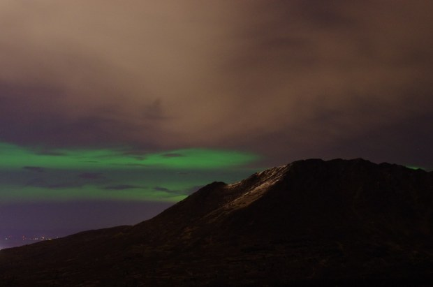 Aurora over Anchorage