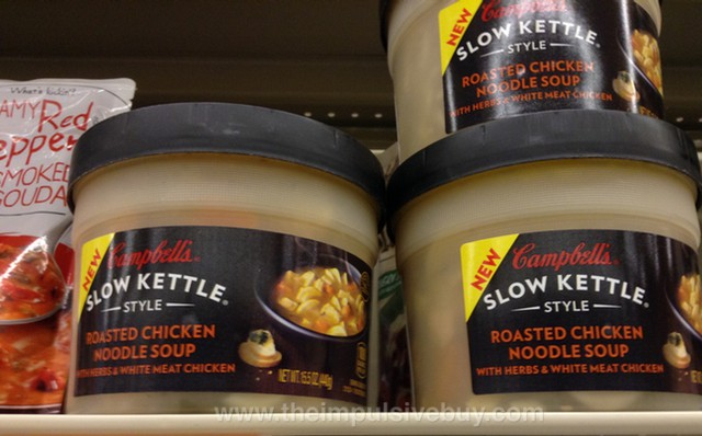 Campbell's Slow Kettle Style Roasted Chicken Noodle Soup