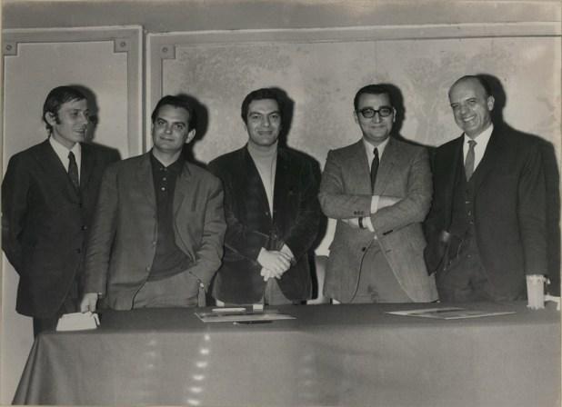 Γιάννης Καλατζής, Λευτέρης Παπαδόπουλος, Μάνος Λοΐζος, Μάκης Μάτσας, Δημήτρης Μυράτ (1969)