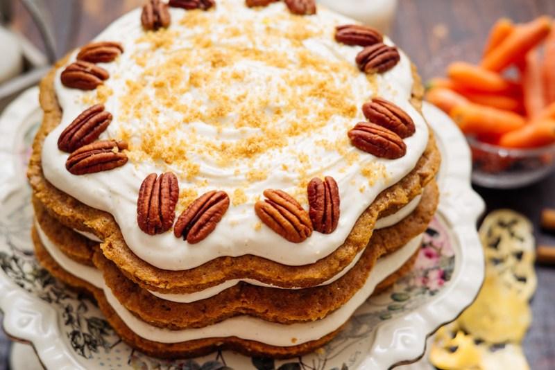 Tarta de Zanahorias ó Carrot Cake
