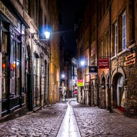 Old streets of Vieux Lyon