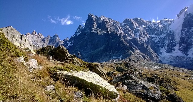 mountain peaks chamonix france