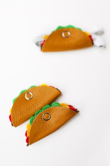 How to Make the Cutest Cord Tacos - DIY Cord Organizer