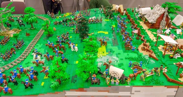 Battle of Bricksburg:  Overview
