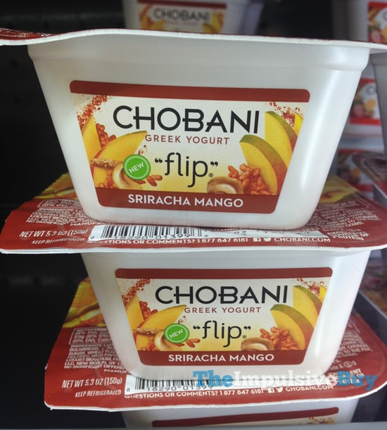 Chobani Flip Sriracha Mango Greek Yogurt