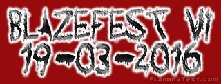 Blazefest VI header