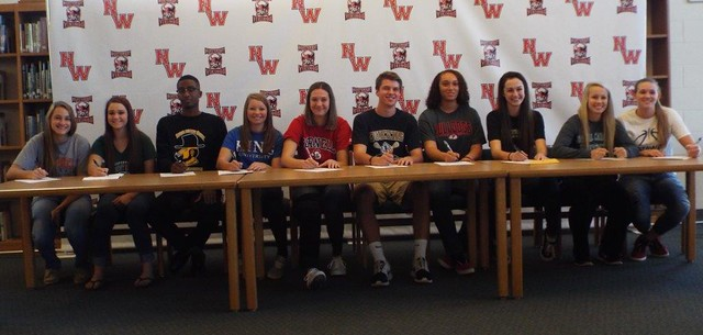 NWHS Signing Day 2015-11-12