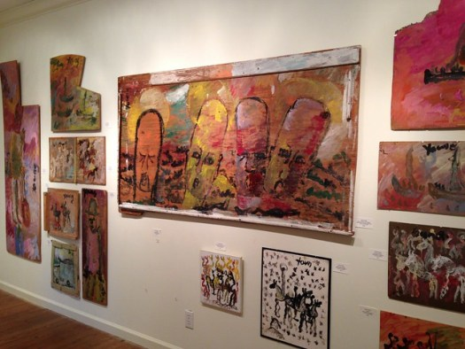 Purvis Young, Main Street Gallery, Clayton GA