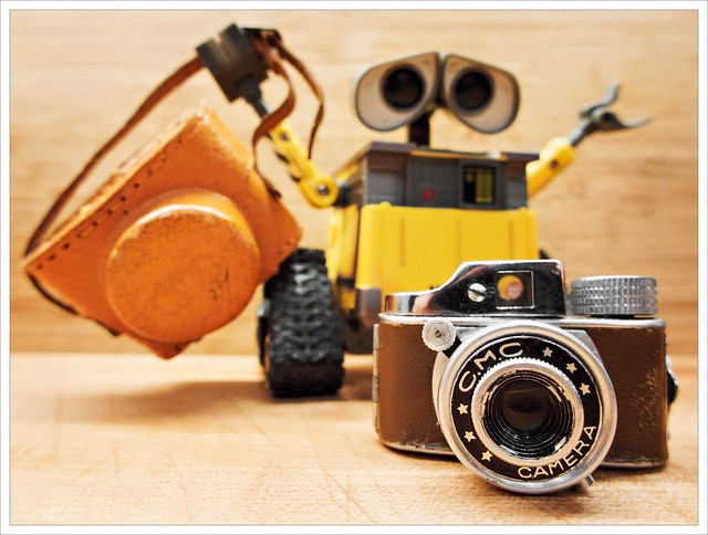 Day 355 - Wall-E was gifted a new camera!
