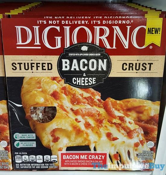 DiGiorno Bacon Me Crazy Bacon & Cheese Stuffed Crust Pizza