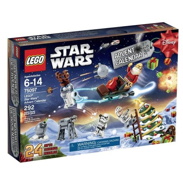 2015 LEGO Advent Calendars: Star Wars, City, Friends