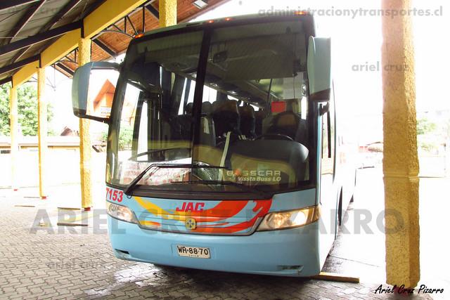 Jac - Pucón - Busscar Vissta Buss LO / Mercedes Benz (WR8870)