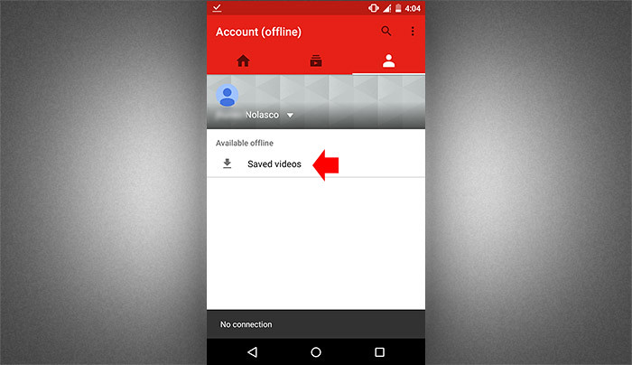 How to watch youtube video offline step 4