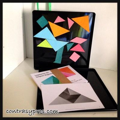Doble tangram magnético de Jugar i jugar