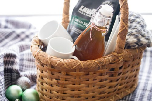 Toasted Marshmallow Syrup Gift Basket