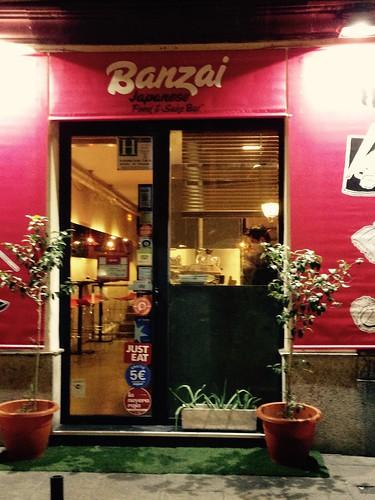 Banzai Espíritu Santo, Malasaña. Madrid