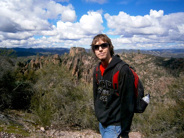 Kyle at Pinnacles