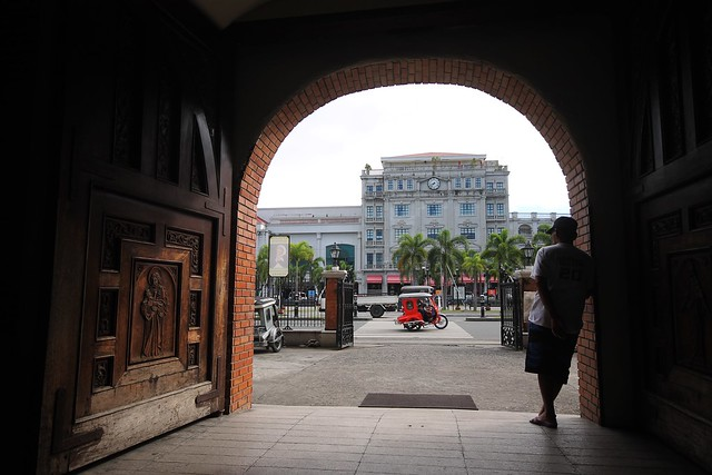 View of The Plaza Hotel from the Balanga Cathedral