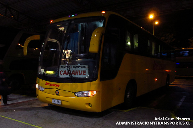 Pullman Beysur - Temuco - Marcopolo Andare Class / Mercedes Benz (YD1884)