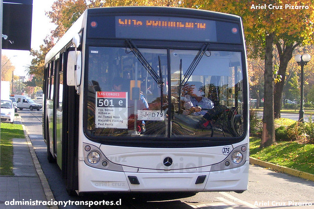 Transantiago - Buses Metropolitana / Metbus - Caio Mondego H / Mercedes Benz (BJFD79)