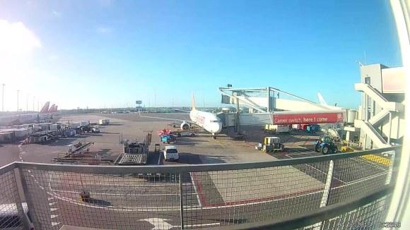 Avión de Pegasus Air en Schiphol