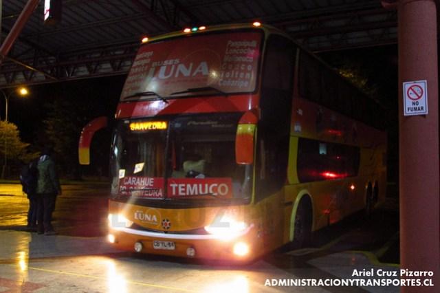 Pullman Luna Express - Temuco - Marcopolo Paradiso 1800 DD / Mercedes Benz (CBYL84)