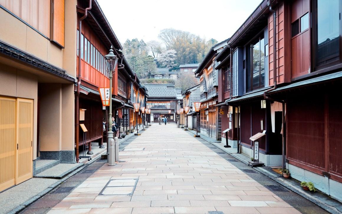 金澤旅遊景點 東山ひがし (東山茶屋街)