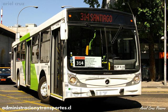 Transantiago - Buses Vule - Caio Mondego H / Mercedes Benz (BJFS16) (29)