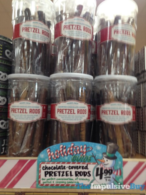 Trader Joe's Chocolate-Covered Pretzel Rods
