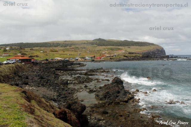 Isla de Pascua - Visión Av. Pont