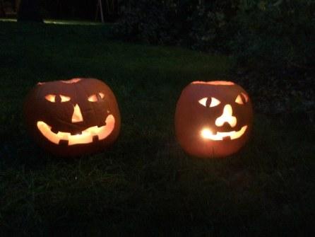 Elijah & Zachary's pumpkins