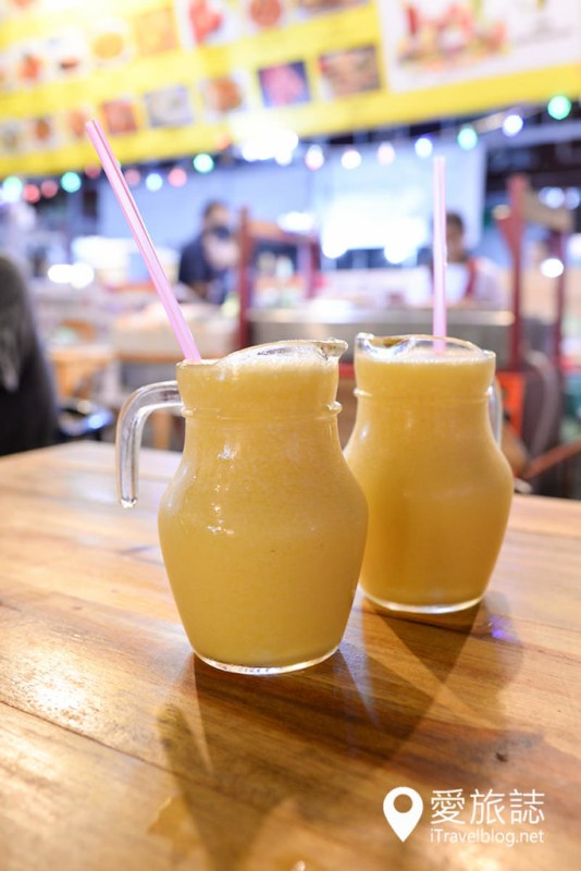 《清迈夜市美食》Aisha Thai Food & Drinks 百元有找,不可错过的夜市铜板美食摊