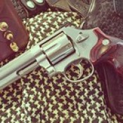 One of my toys. Smith & Wesson 357 Magnum.