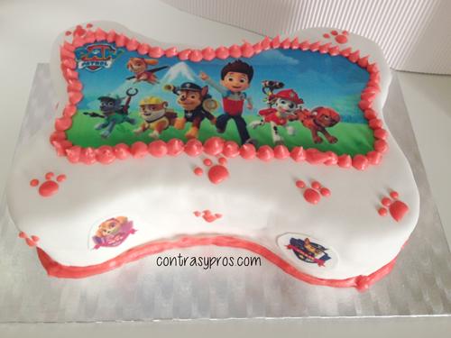 Cómo hacer una tarta de la Patrulla Canina paso a paso (Paw Patrol Cake)