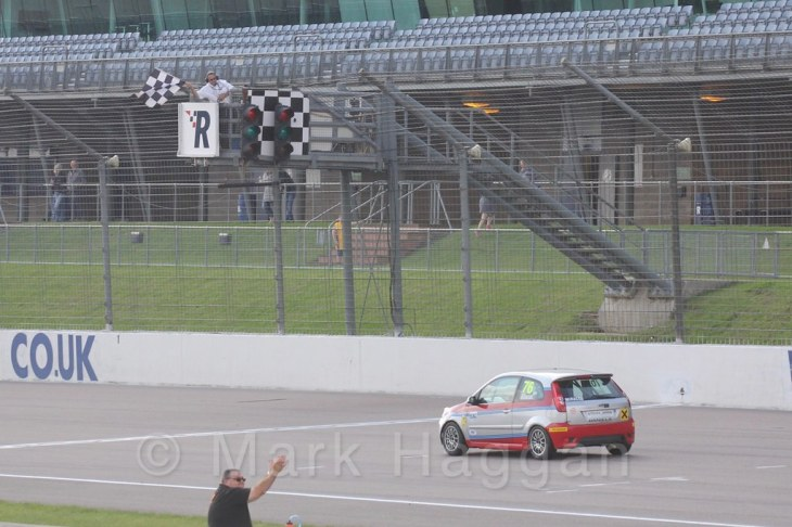 Race 1, Fiesta Junior Championship, Rockingham, Sept 2015