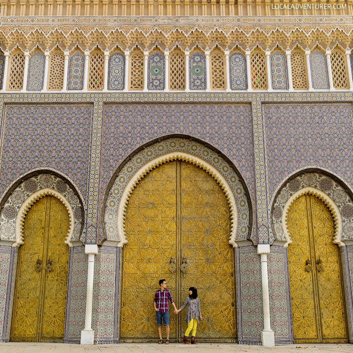 Royal Palace Fes (21 Amazing Things to Do in Fes Morocco).