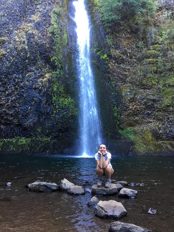 Columbia River waterfalls