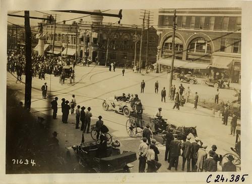 1911 Glidden Tour in Spartanburg