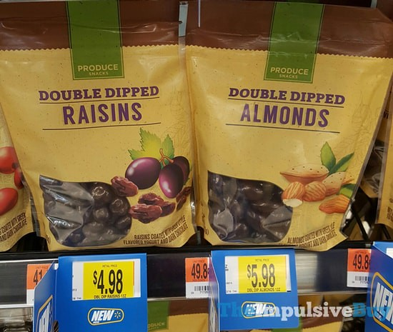 Produce Snacks Double Dipped Raisins and Almonds