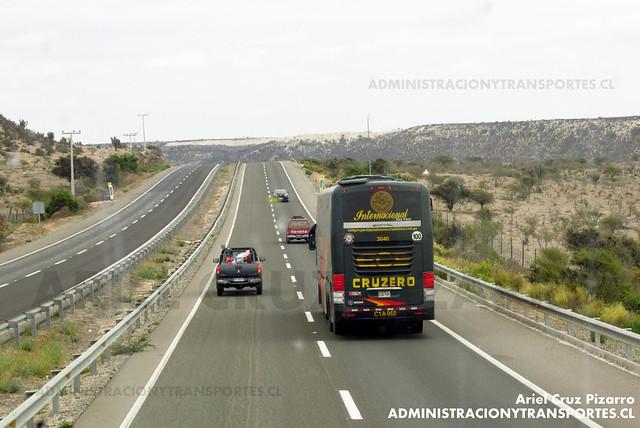 Cruz del Sur (Perú) - Norte Chile (Ruta 5) - Comil Campione 4.05 HD / Scania (C1A960) (3040)