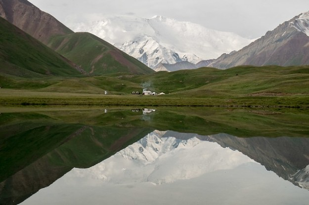 Lenin Peak Base Camp. Kyrgyzstan