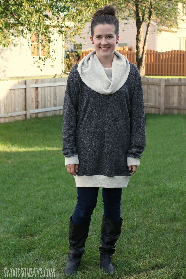 Patterns for Pirates Raglan Tunic