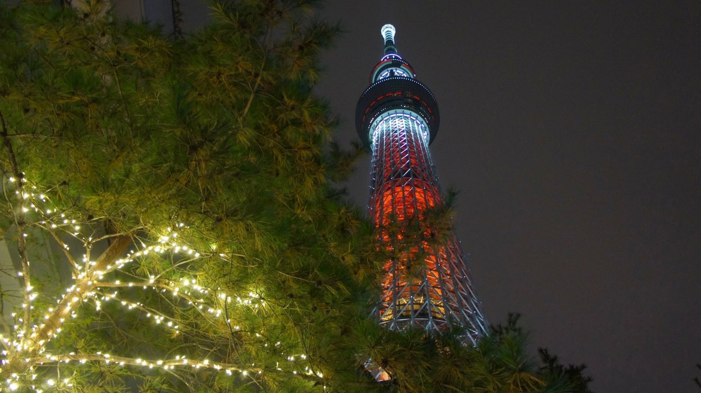 Christmas at Tokyo Skytree