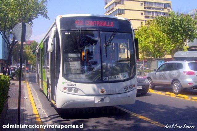 Transantiago - Express de Santiago Uno - Busscar Urbanuss Pluss / Volvo (BCBB98)