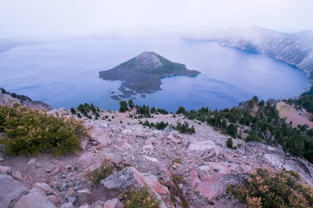 Dissolution. Crater Lake