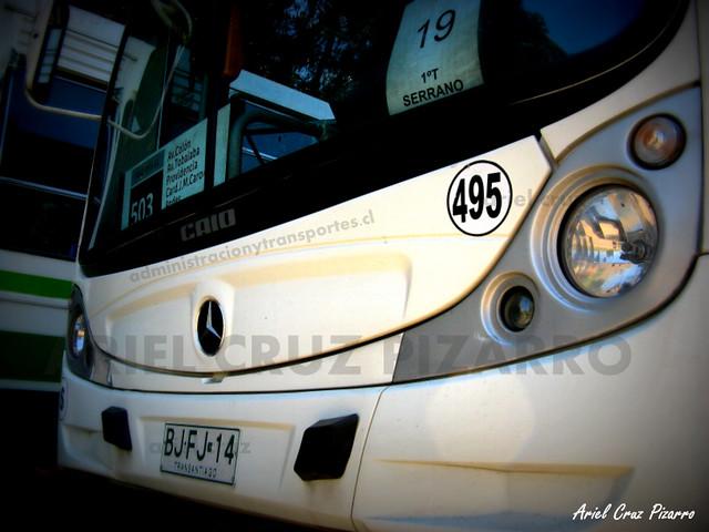 Transantiago - Metbus - Caio Mondego HA / Mercedes Benz (BJFJ14)