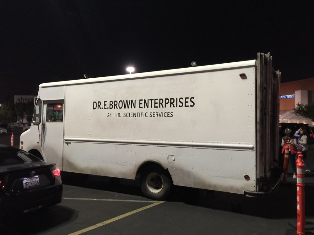 Doc Brown's truck