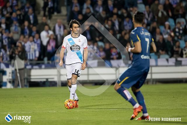 Temporada 15/16. Jornada 17ª. Getafe C.F. 0 - R.C.Deportivo 0